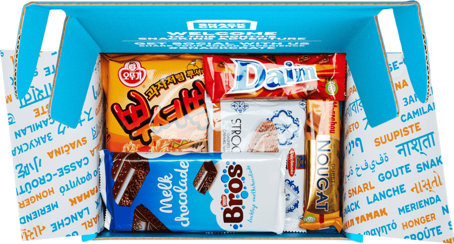 A Monthly Box From Around The World Snackcrate