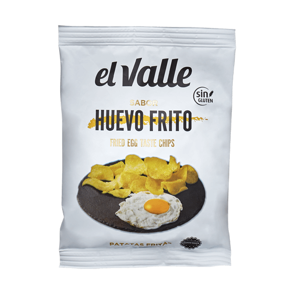 Fried Egg Chips 45g Snackcrate