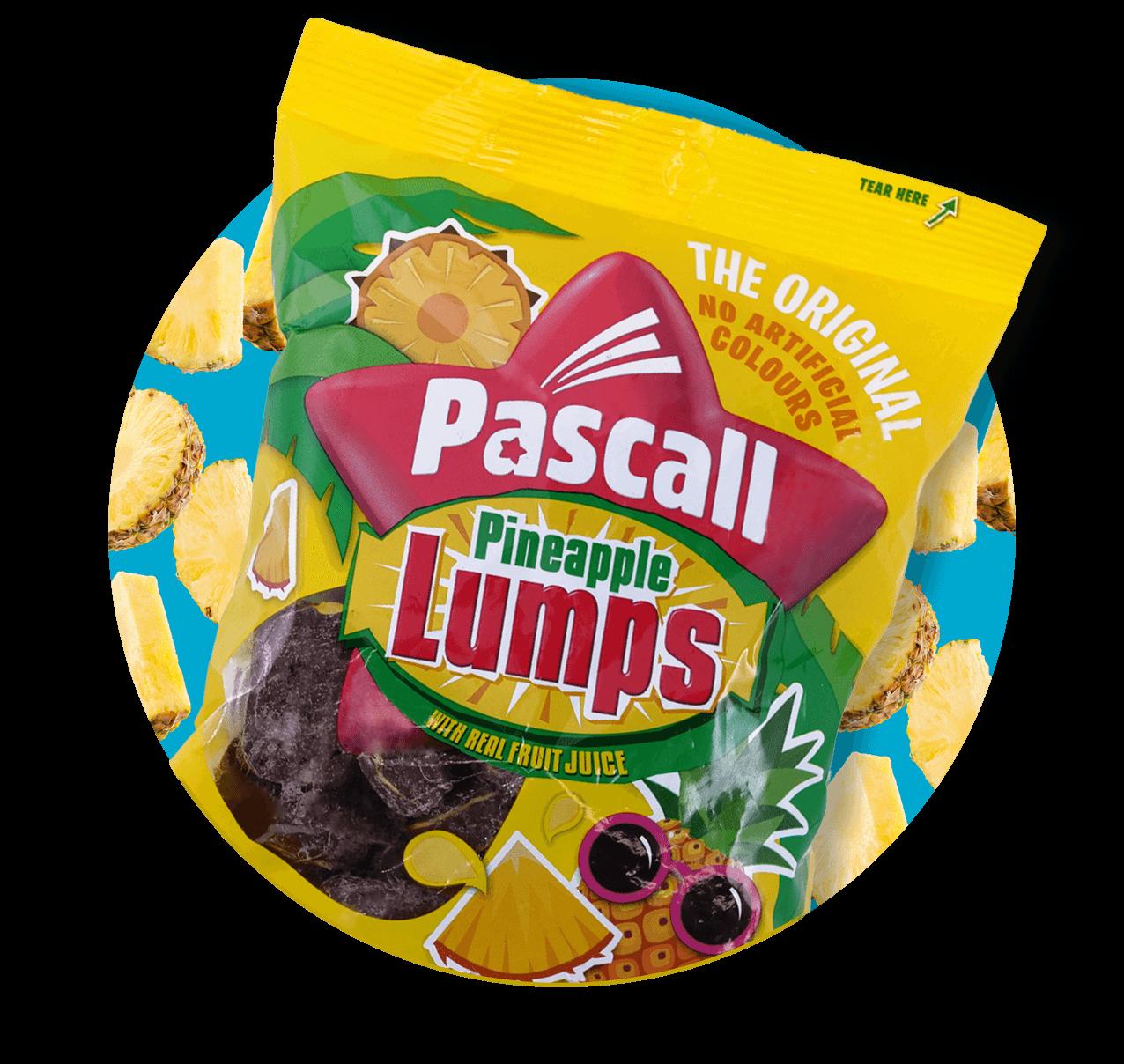 Pascall's Pineapple Lumps